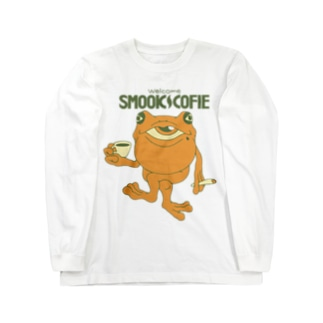 SMOOK COFIE / COLOR Long sleeve T-shirts