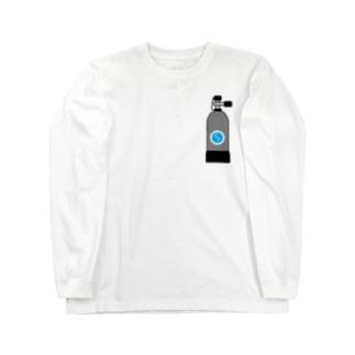ボンベ  Long sleeve T-shirts