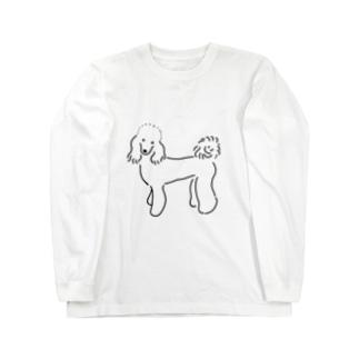 クロエちゃんグッズ(モノクロ) Long sleeve T-shirts
