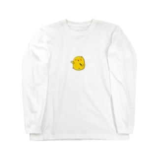 えんぴつひよこ Long sleeve T-shirts