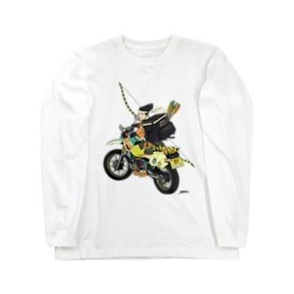 Uber eats武士 Long Sleeve T-Shirt
