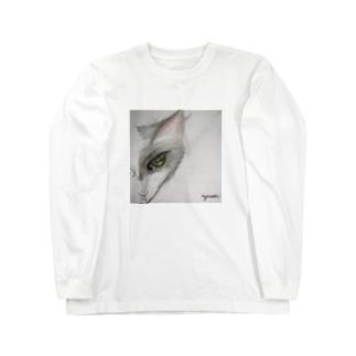 ねこん Long sleeve T-shirts