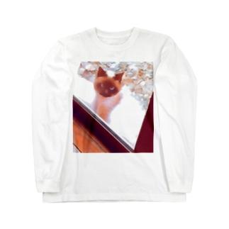 シャム猫ファンタジー Long sleeve T-shirts