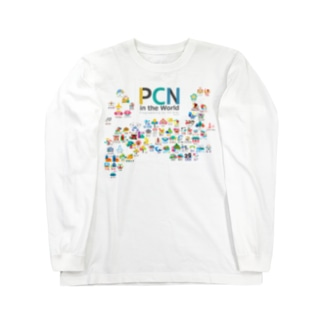PCNのPCN in the World Ver1.3.0 Long sleeve T-shirts