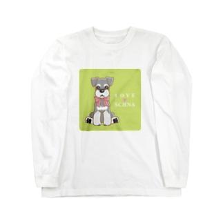 LOVESCHNA-らぶしゅな- Long sleeve T-shirts