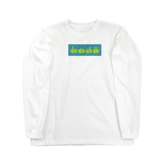 指ゲーム太朗くん Long sleeve T-shirts