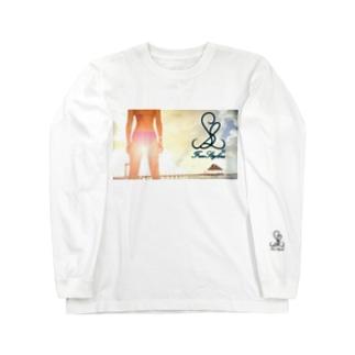 【FreeStylers】 girl beachside Long sleeve T-shirts