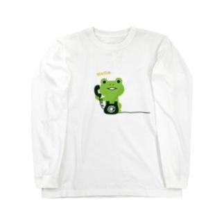 かえるコール Long sleeve T-shirts