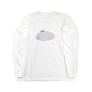 とろける 真っ白雷鳥 Long sleeve T-shirts
