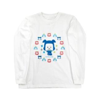 忍者犬たろうくん_開運A Long sleeve T-shirts