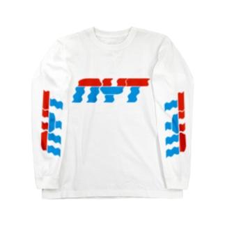 平日温泉組合 Long sleeve T-shirts