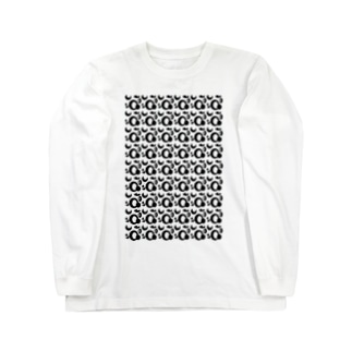 モダンパターン Long sleeve T-shirts