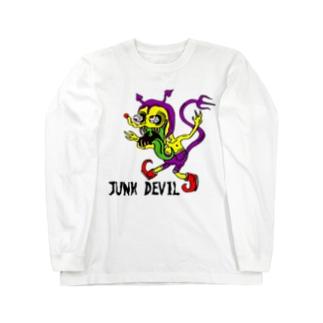 デビル君 Long sleeve T-shirts