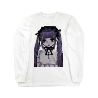 紫 Long sleeve T-shirts
