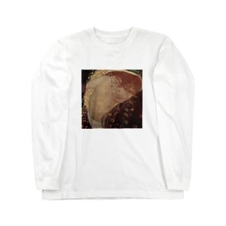 グスタフ・クリムト(Gustav Klimt) / 『ダナエ』(1907年 - 1908年) Long sleeve T-shirts
