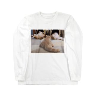 ヘソ天占い Long Sleeve T-Shirt