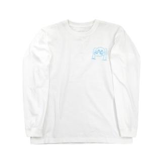 ONMAROCHAN ブルー Long sleeve T-shirts