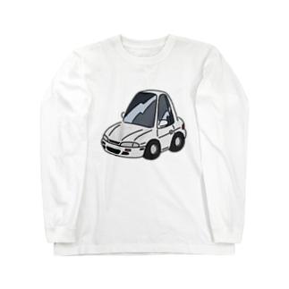 S14タイプのくるま Long sleeve T-shirts