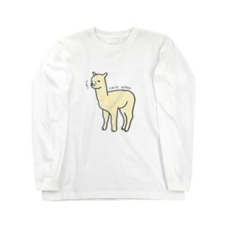 一理アルパカさん Long Sleeve T-Shirt