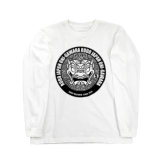 RUDO JAPAN 鬼瓦 Long sleeve T-shirts