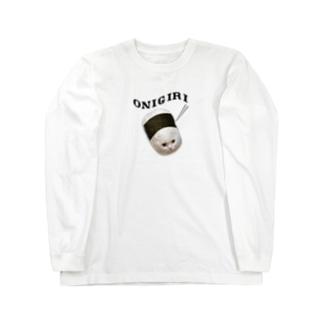 俵おにぎり Long sleeve T-shirts