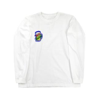 WM©︎(Blue beer🍻 Long sleeve T-shirts