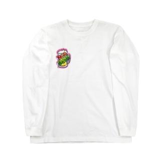 WM©︎(pink beer🍻 Long sleeve T-shirts