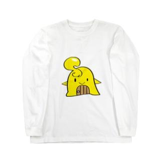 セコンドア君 Long sleeve T-shirts