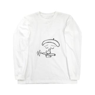 思案 Long sleeve T-shirts