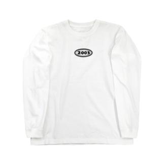 西暦 2003年 Western calendar  Long sleeve T-shirts