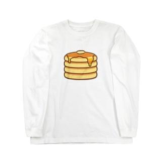 かわいいホットケーキ Long sleeve T-shirts