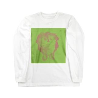 実家犬guri-n Long sleeve T-shirts
