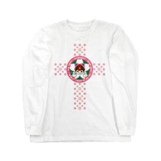 みんみんハピバス【限定ロンT】 Long sleeve T-shirts