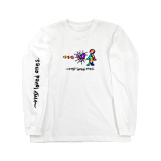 WM©︎(→my loved ones Long sleeve T-shirts