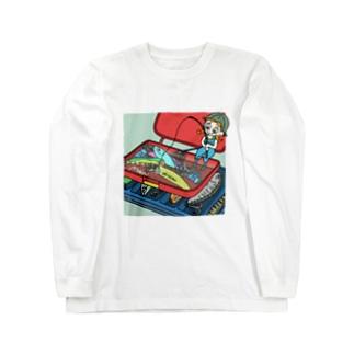 ハコイリムスメ(ルアー箱) ロンT Long sleeve T-shirts