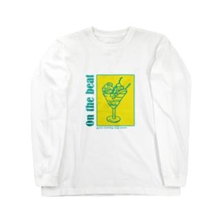 On the beat フルーツカクテル Long sleeve T-shirts