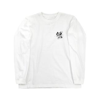 ミッキー&ミニー Long sleeve T-shirts