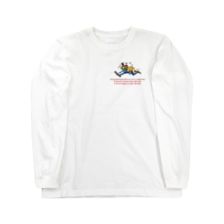 走るくん Long sleeve T-shirts