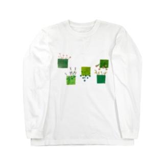 こころの庭 Long Sleeve T-Shirt