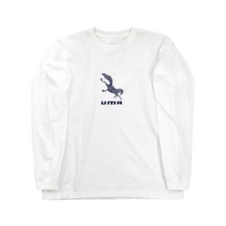 馬❌ UMA⭕️ Long sleeve T-shirts