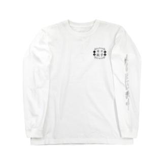 日々餃子(黒) Long sleeve T-shirts
