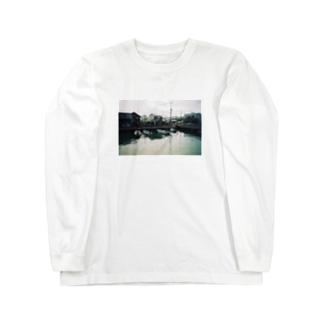 フネ先生 Long sleeve T-shirts