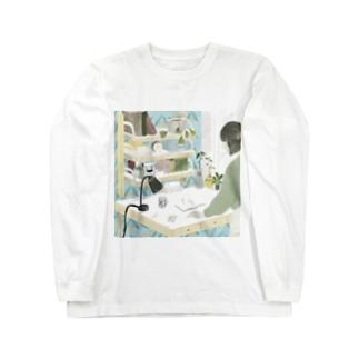 アイニードアグッドデスク Long sleeve T-shirts