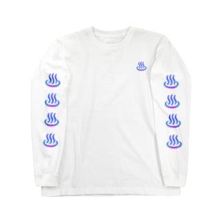 温泉ゆげ Long sleeve T-shirts