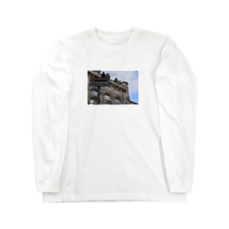 🚢スコットランドの街並み Long sleeve T-shirts