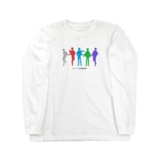 どっとしーイラスト Long sleeve T-shirts