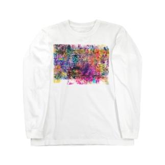 カラフル2 Long sleeve T-shirts