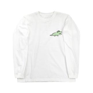 DHKN7 わに Long sleeve T-shirts