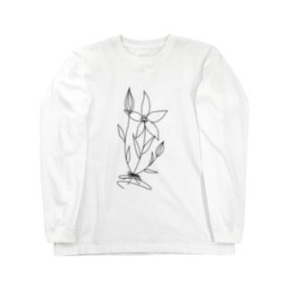 bouquet black Long sleeve T-shirts
