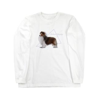 ショードック シェルティ Long sleeve T-shirts
